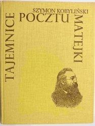 TAJEMNICE POCZTU MATEJKI - Szymon Kobyliński 1984