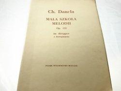 MAŁA SZKOŁA MELODII OP. 123 - Charles Dancla 1956