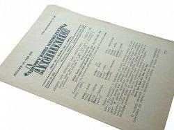 RADIOWY KURS NAUKI JĘZYKA ANGIELSKIEGO 29 1960/61