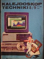 KALEJDOSKOP TECHNIKI NR 8/9 (387-388) 1989