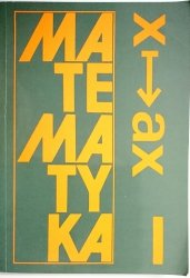 MATEMATYKA. PODRĘCZNIK KLASA I - Jan Anusiak 1994