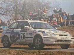 RAJD WRC 2005 ZDJĘCIE NUMER #296 HONDA CIVIC