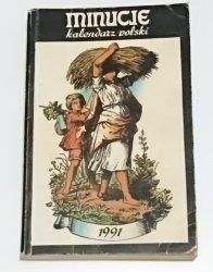 MINUCJE. KALENDARZ POLSKI 1991
