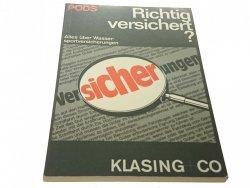 RICHTIG VERSICHERT? - Anngret Pods (1983)