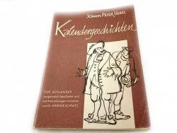 KALENDERGESCHICHTEN - Johann Peter Hebel 1962
