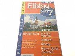ELBLĄG PLUS 7 PLAN MIASTA