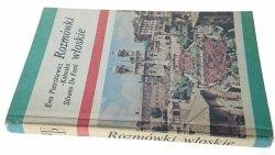ROZMÓWKI WŁOSKIE - Pietrzkiewicz-Kobosko 1987