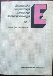 EKONOMIKA I ORGANIZACJA TRANSPORTU SAMOCHODOWEJ CZ. 1 - Kern-Jędrychowski 1985