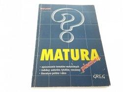 JĘZYK POLSKI. MATURA PISEMNA - Dorota Stopka 1998