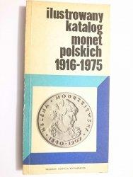 ILUSTROWANY KATALOG MONET POLSKICH 1916-1975 - Czesław Kamiński 1976