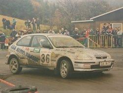 RAJD WRC 2005 ZDJĘCIE NUMER #009 HONDA CIVIC