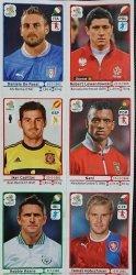 EURO 2012 NAKLEJKI NUMERY: 74 324 272 287 151 364