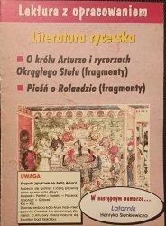 LEKTURA Z OPRACOWANIEM. LITERATURA RYCERSKA