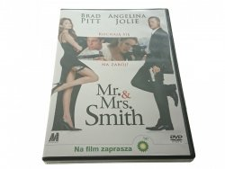 DVD. MR. and MRS. SMITH. BRAD PITT ANGELINA JOLIE