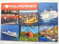 I LOVE POLFERRIES. M/F SCANDINAVIA, M/F BALTIVIA, M/F WAWEL