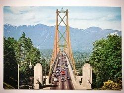 LIONS GATE BRIDGE. VANCOUVER B. C. CANADA