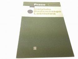 PRACE INSTYTUTU BADAWCZEGO LEŚNICTWA NR 520 (1976)