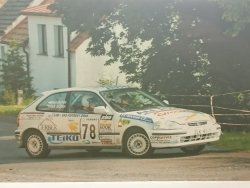 RAJD WRC 2005 ZDJĘCIE NUMER #016 HONDA CIVIC