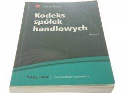 KODEKS SPÓŁEK HANDLOWYCH (2011)