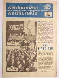 WIADOMOŚCI WĘDKARSKIE NR 6 1966