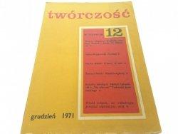 TWÓRCZOŚĆ 12 GRUDZIEŃ 1971