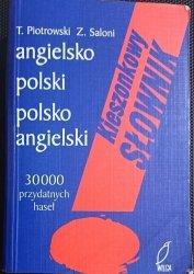 KIESZONKOWY SŁOWNIK ANGIELSKO-POLSKI POLSKO-ANGIELSKI