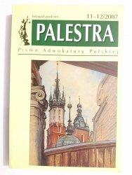 PALESTRA NR 11-12/2007 LISTOPAD-GRUDZIEŃ 2007