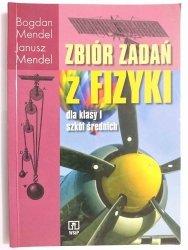 ZBIÓR ZADAŃ Z FIZYKI DLA KLASY I SZKÓŁ ŚREDNICH - Bohdan Mendel 1989