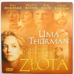 UMA THURMAN W FILMIE JAMESA IVORY – ZŁOTA – DVD