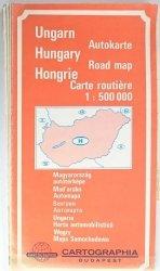 HUNGARY ROAD MAP 1: 500 000
