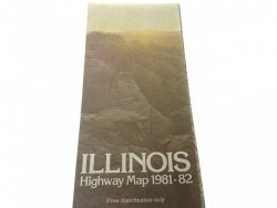 ILLINOIS. HIGHWAY MAP 1981-82