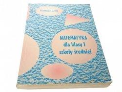 MATEMATYKA I - Stanisław Zieleń (2000)