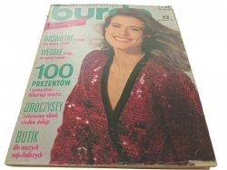 BURDA 12 GRUDZIEŃ '91