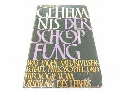 GEHEIMNIS DER SCHOPFUNG 1960 - M. Grison