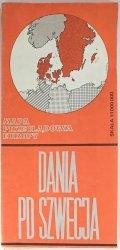 DANIA PD SZWECJA 1: 1 000 000 19761976