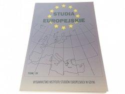 STUDIA EUROPEJSKIE TOM IX PORTY MORSKIE W PROCESIE