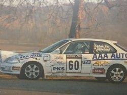 RAJD WRC 2005 ZDJĘCIE NUMER #301 HONDA CIVIC
