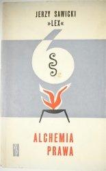 ALCHEMIA PRAWA - Jerzy Sawicki Lex 1965