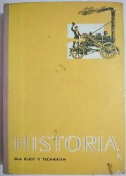HISTORIA DLA KLASY II TECHNIKUM - Adam Galos 1973