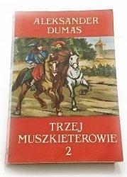 TRZEJ MUSZKIETEROWIE TOM 2 - Aleksander Dumas 1990