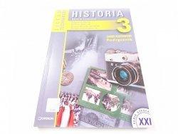 HISTORIA. ZAKRES PODSTAWOWY. PODRĘCZNIK KLASA 3