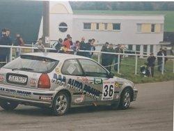 RAJD WRC 2005 ZDJĘCIE NUMER #011 HONDA CIVIC