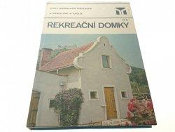 REKREAĆNI DOMKY - Kaldecova 1983
