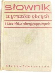 SŁOWNIK WYRAZÓW OBCYCH I ZWROTÓW OBCOJĘZYCZNYCH - Władysław Kopaliński 1968