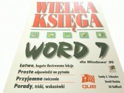 WIELKA KSIĘGA WORD 7_ WIN95 - Praca Zbiorowa