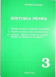 HISTORIA PRAWA CZĘŚĆ 3 - Zbigniew Naworski 1994