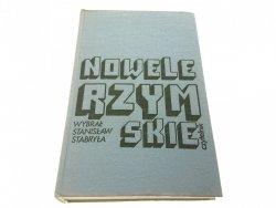 NOWELE RZYMSKIE - Wybrał Stanisław Stabryła