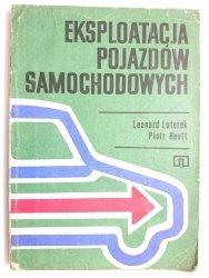 EKSPLOATACJA POJAZDÓW SAMOCHODOWYCH - Leonard Luterek, Piotr Reutt1977
