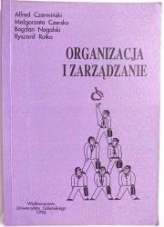 ORGANIZACJA I ZARZĄDZANIE - Alfred Czermiński 1996