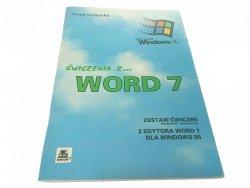 ĆWICZENIA Z WORD 7 DLA WINDOWS 95 Iwona Szymacha